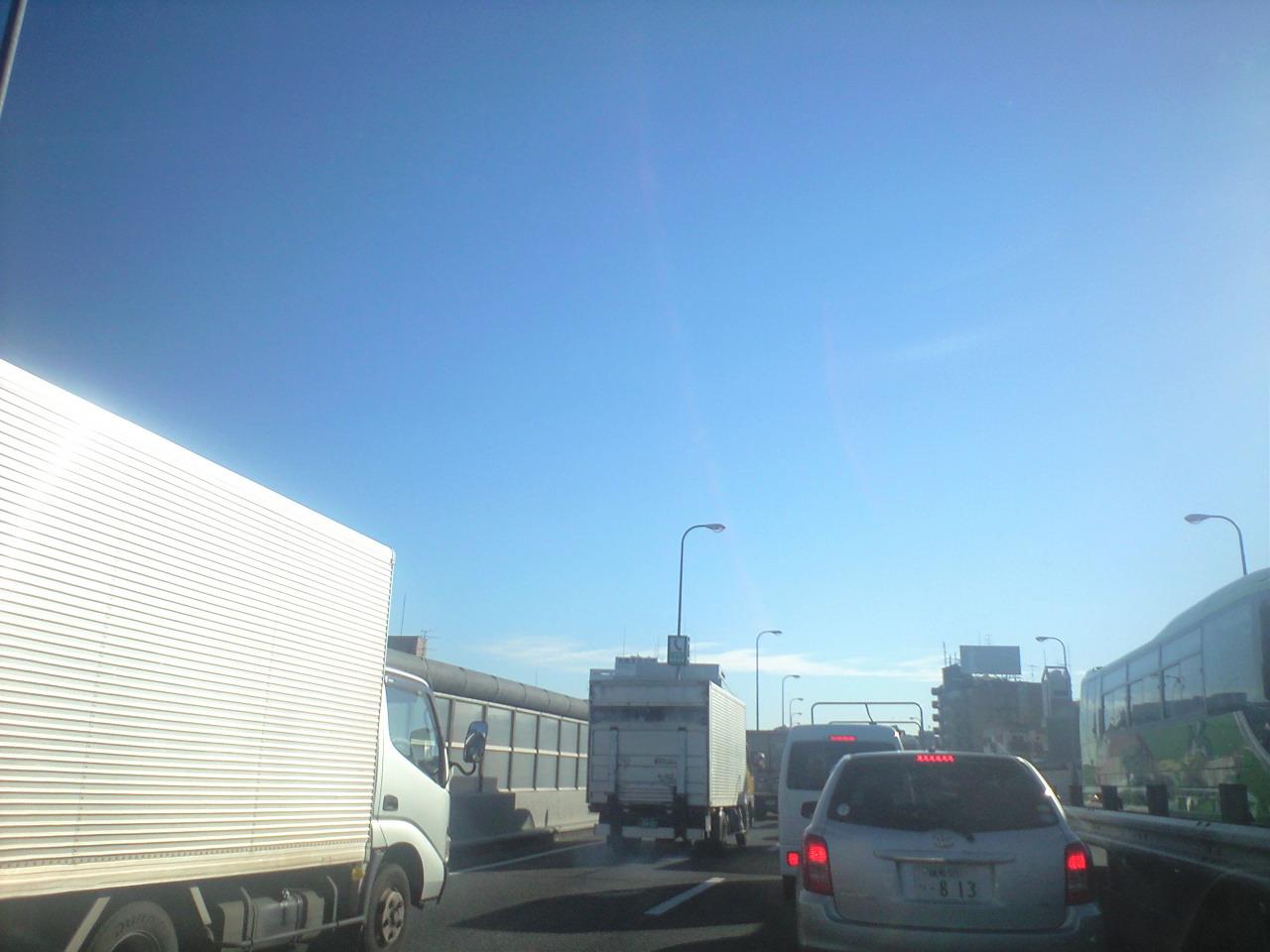 渋滞…渋滞