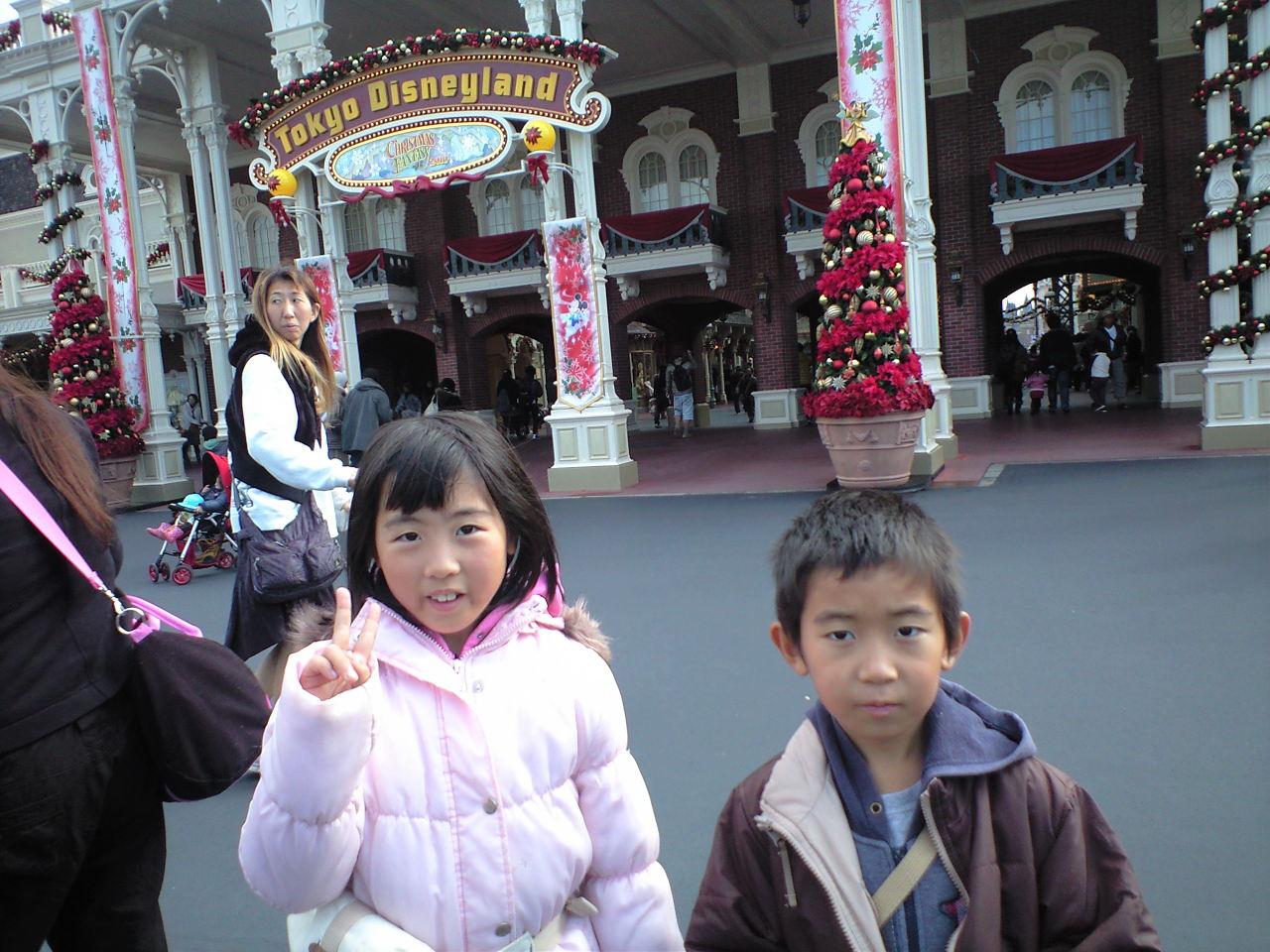 東京ディズニーランドの巻