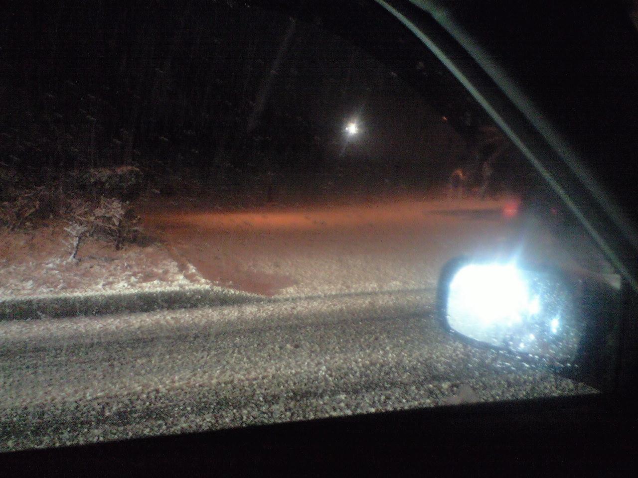 雪すごい…