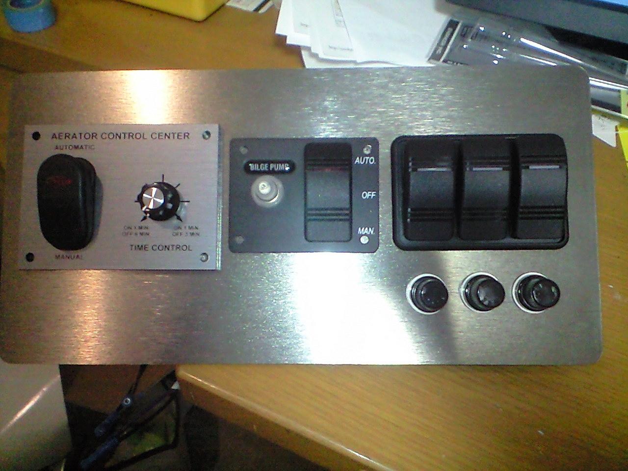 ステーサー390 電装系改造計画 スイッチパネル計画編
