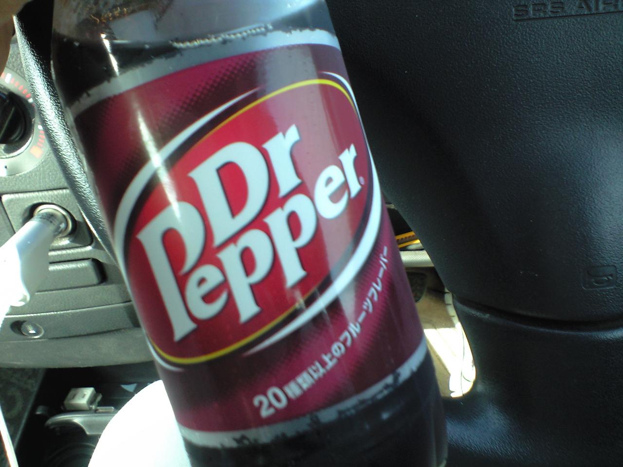 ドクターペッパー知ってますか?